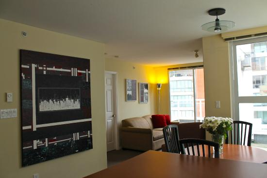 910 Beach Avenue Apartment Hotel: Two Bedroom Penthouse (Small)