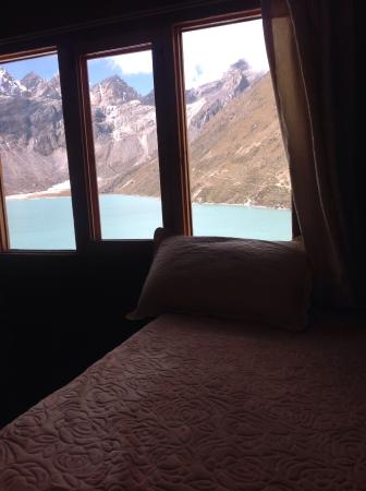 Fitzroy Inn Gokyo: Great view from the room,