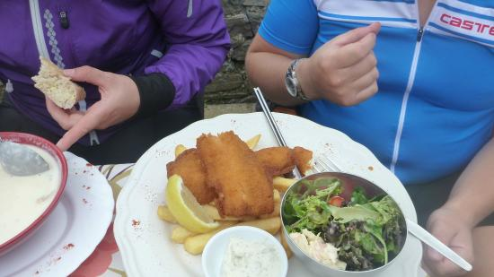 The Three Kings: Fish and chips