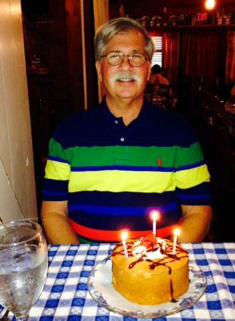 The Angus Barn Birthday Cake