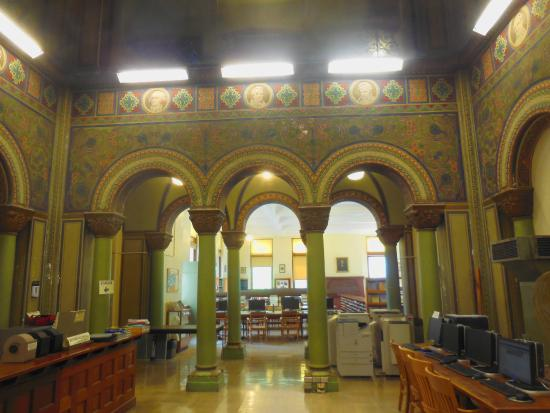 Altgeld Hall Tower: Mathematics Library
