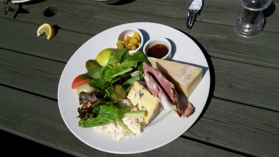 The Ship at Dunwich: Ploughmans (aka Reed Cutters Platter)  - The Works!