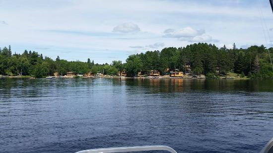 Ely, Minnesota: Resort View from the Lake