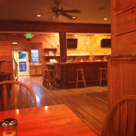 Irwin, ID: Home cooked food in a western bar style atmosphere