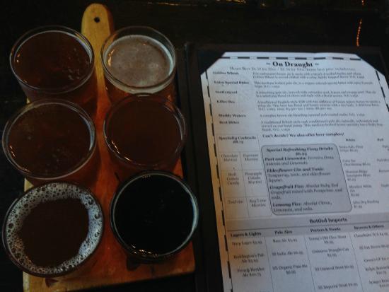 Milford, Nueva Jersey: tasting beers