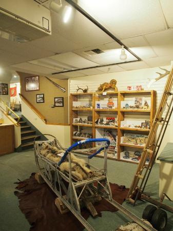 Bouchard S International Dog Mushing And Sled Museum