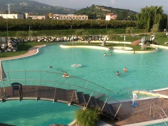Santa Lucia, Italia: Veduta dall'alto