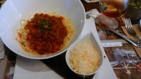Hollywood : Spaghetti bolonese