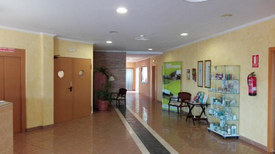 Hotel Ciudad del Jerte : recepcion