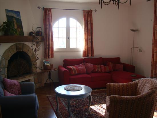 La Bastide Saint Christophe : Upper  Garden Apartment - Lounge
