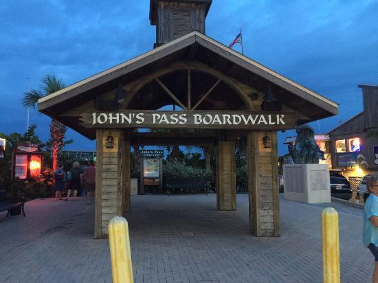 Sea Chest Motel: Johns Pass