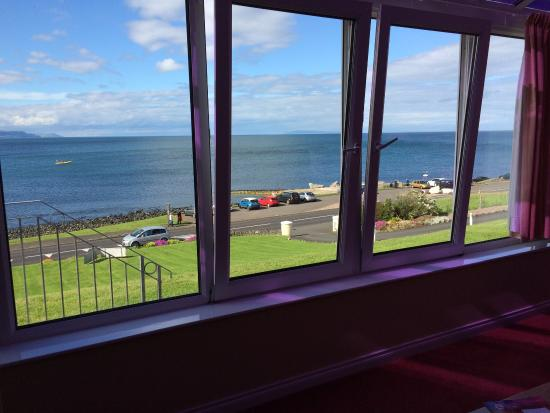 Ballygally Holiday Apartments: The view from apt 4