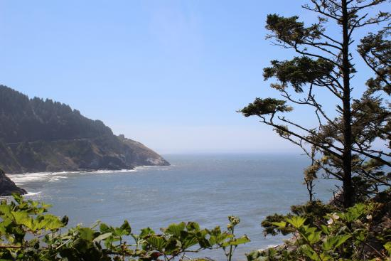 Florence, OR: A view from the lighthouse