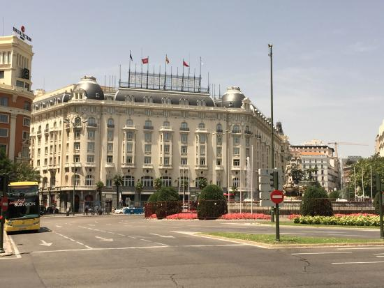 Hotel Exterior Picture Of The Westin Palace Madrid