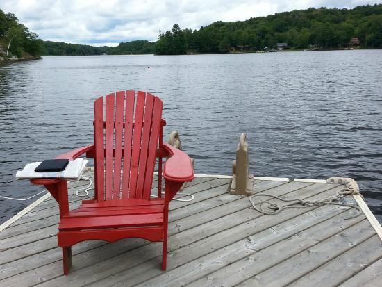 Mill Lake Cottage Resort: Reading room