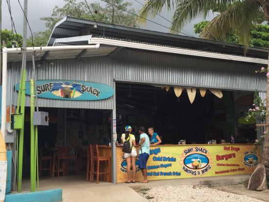 Image result for Surf Shack Burgers & Wings tamarindo