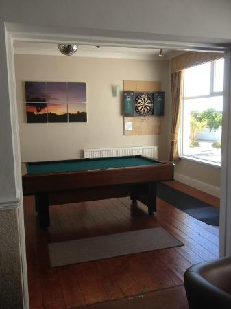 Pinelodge: Games room