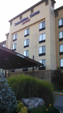 SpringHill Suites by Marriott Pigeon Forge: Front view of hotel