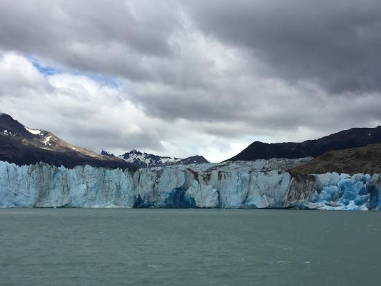 Bilde fra Viedma Glacier