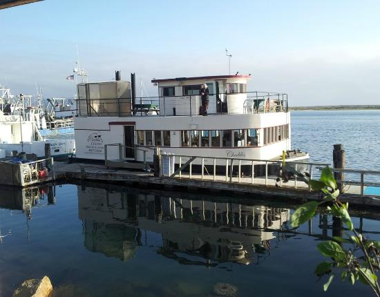 Morro Bay, CA: The Chablis at the dock