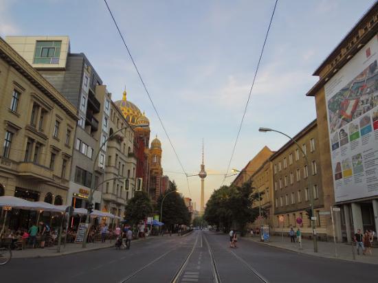 柏林市中心金色旅館照片