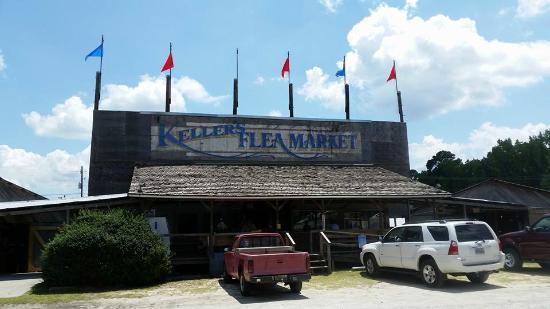 Keller's Flea Market: Front of Kellers and Office