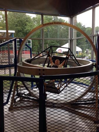Huntsville, AL: Multi axis ride simulator -awesome!