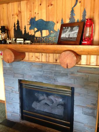 Great Northern Resort: Fireplace