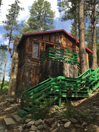 Nice Sierra Blanca Cabins: August 8, 2015... Cabin #11 Peaceful,