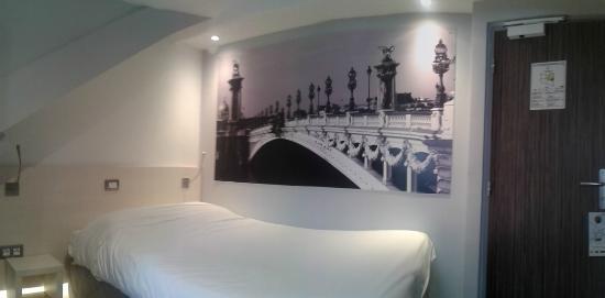 Hôtel Kyriad Paris 12 - Nation: chambre 3