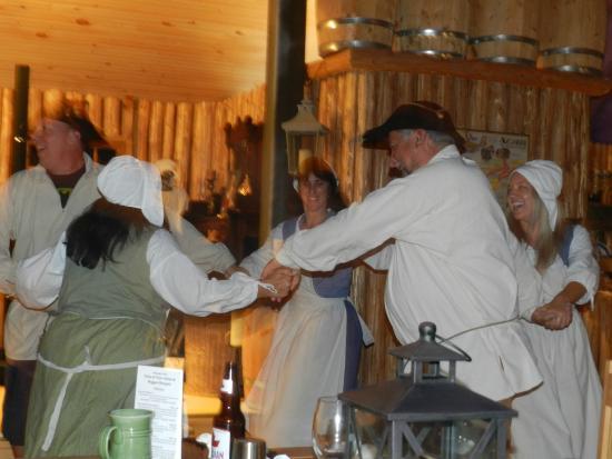 Beggar's Banquet: Dancing after diner