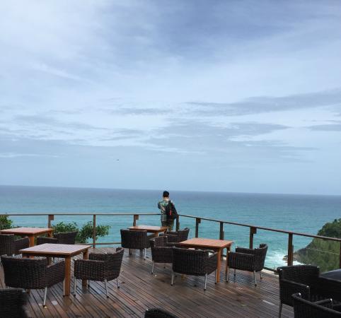 Paresa Resort Phuket: The terrace part of the Resort restaurant