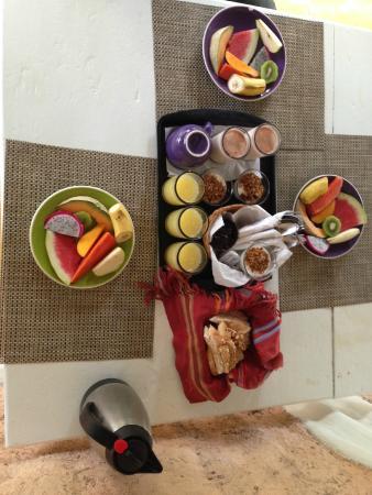 Posada Lamar: Desayuno riquísimo