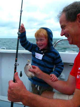 Cap'n Kids Fishing Adventures: I caught a fish!