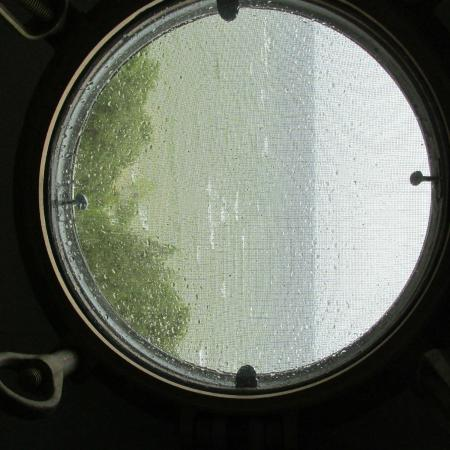 Baileys Harbor, WI: View from one of the port holes