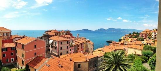 Albergo Delle Ondine: Вид из окна, 3й этаж