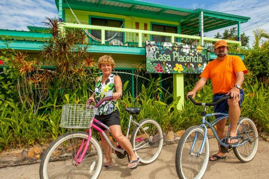 Casa Placencia Belize: Complimentary bikes are provided to explore & get around Placencia
