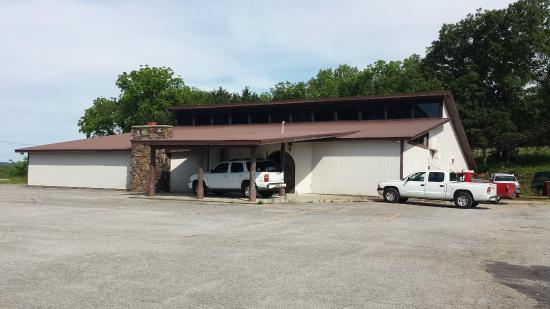 Pineville, MO: Our new building. Not much decor yet. Give it time!
