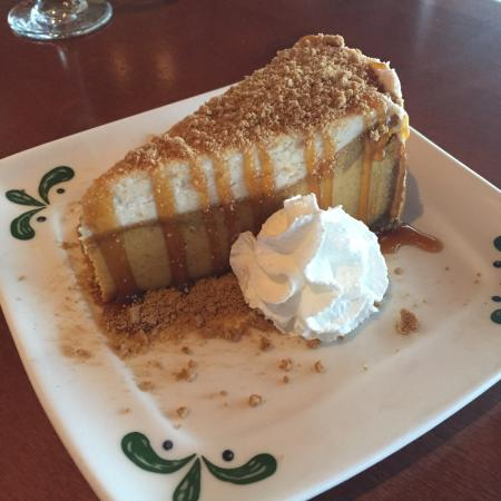 Olive garden pumpkin cheesecake review for Pumpkin cheesecake olive garden