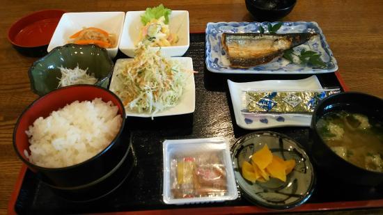 Business Hotel Kawakami: 朝食