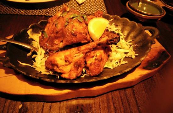 Vedas Indian Restaurant (Changshu Road) : Chicken Tandoori (Half)