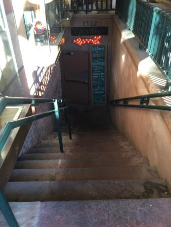 Green Russell: Down The Stairs To The Speakeasy