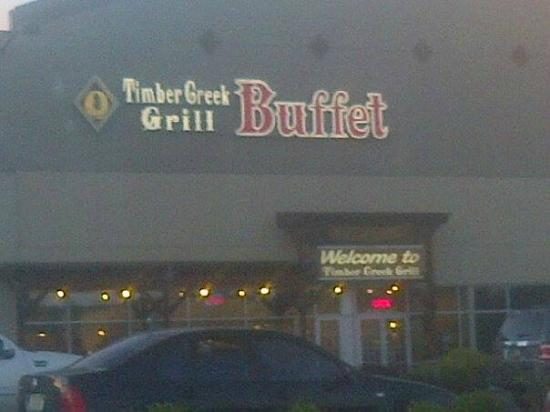 Timber Creek Grill Buffet: Easy to find from the highway