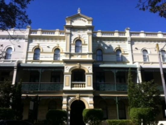 Avonmore on the Park Boutique Hotel: Avonmore historical hotel