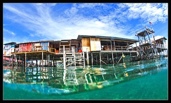 領域潜水員水肺潜水和休閑旅館