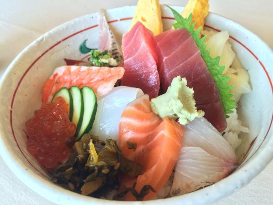 Sushi Taka Ebisu: 海鮮丼