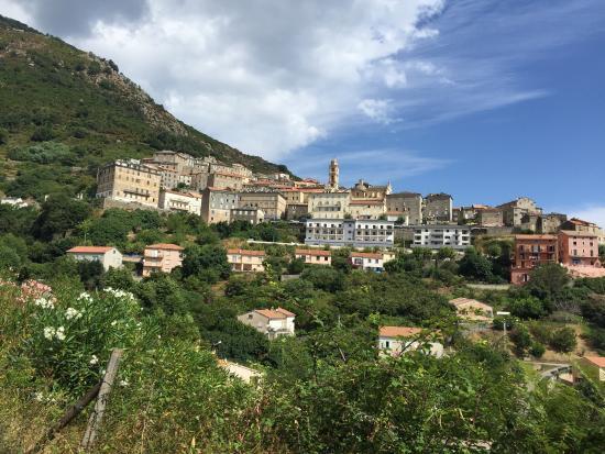 """Cervione, France: """"Balcon sur la mer"""", c'est comme ça que l'on prénomme ce joli petit village perché sur la montag"""
