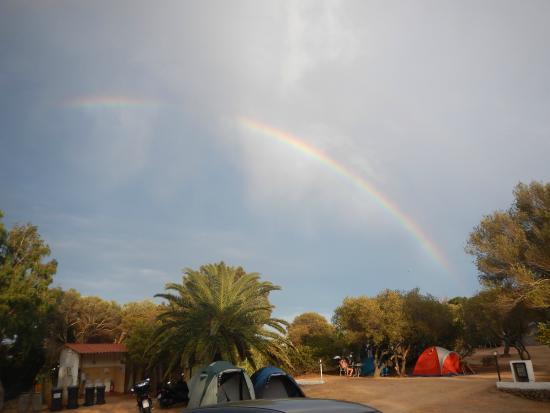 Camping Maddalena: pioggerellina