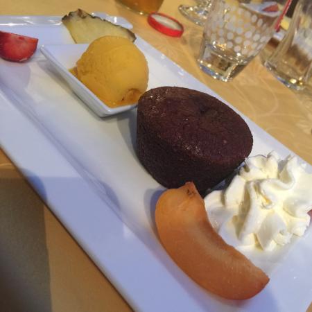 Chez Berneron : Fondant au chocolat