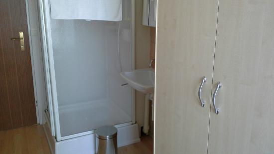 Hotel Edelweiss: shower